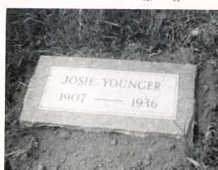 "BLACK YOUNGER, JOSEPHINE ""JOSIE"" - Marion County, Arkansas 
