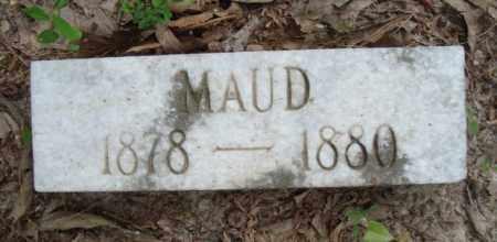 BLANTON, MAUD - Miller County, Arkansas | MAUD BLANTON - Arkansas Gravestone Photos