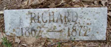 BLANTON, RICHARD - Miller County, Arkansas | RICHARD BLANTON - Arkansas Gravestone Photos