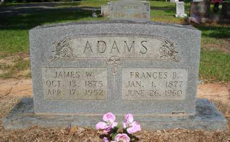 ADAMS, FRANCES B - Miller County, Arkansas | FRANCES B ADAMS - Arkansas Gravestone Photos