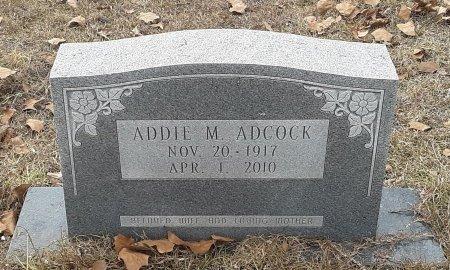 ADCOCK, ADDIE M - Miller County, Arkansas   ADDIE M ADCOCK - Arkansas Gravestone Photos