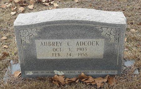ADCOCK, AUBREY C - Miller County, Arkansas | AUBREY C ADCOCK - Arkansas Gravestone Photos
