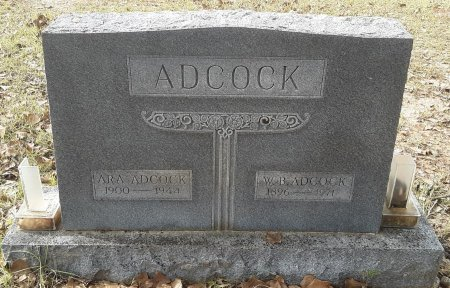 ADCOCK, W B - Miller County, Arkansas | W B ADCOCK - Arkansas Gravestone Photos