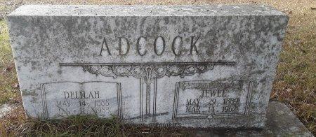 ADCOCK, JEWEL - Miller County, Arkansas | JEWEL ADCOCK - Arkansas Gravestone Photos