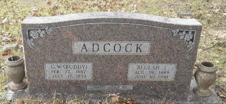 ADCOCK, BEULAH  - Miller County, Arkansas   BEULAH  ADCOCK - Arkansas Gravestone Photos
