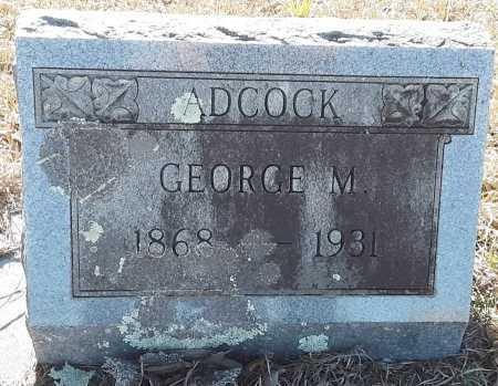 ADCOCK, GEORGE M  - Miller County, Arkansas | GEORGE M  ADCOCK - Arkansas Gravestone Photos
