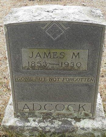 ADCOCK, JAMES M - Miller County, Arkansas   JAMES M ADCOCK - Arkansas Gravestone Photos