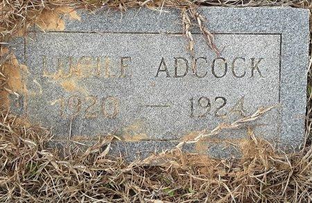 ADCOCK, LUCILE - Miller County, Arkansas | LUCILE ADCOCK - Arkansas Gravestone Photos