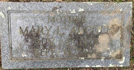 ADCOCK, MARY L - Miller County, Arkansas | MARY L ADCOCK - Arkansas Gravestone Photos