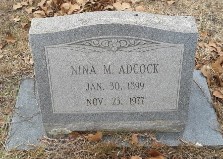 ADCOCK, NINA M - Miller County, Arkansas | NINA M ADCOCK - Arkansas Gravestone Photos