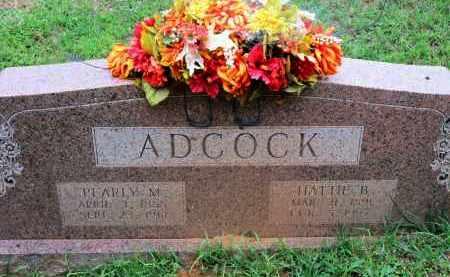 ADCOCK, PEARLY M - Miller County, Arkansas | PEARLY M ADCOCK - Arkansas Gravestone Photos