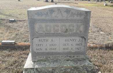 ADCOCK, HENRY J - Miller County, Arkansas | HENRY J ADCOCK - Arkansas Gravestone Photos