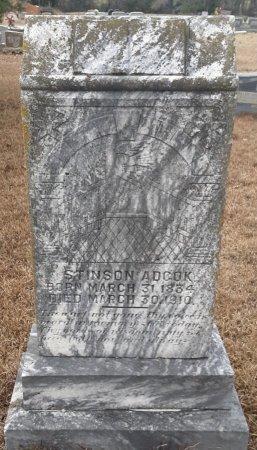 ADCOCK, STINSON - Miller County, Arkansas | STINSON ADCOCK - Arkansas Gravestone Photos