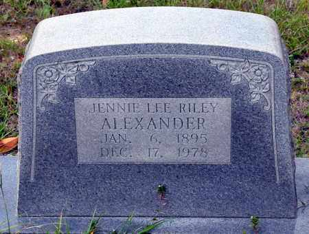 ALEXANDER, JENNIE LEE - Miller County, Arkansas | JENNIE LEE ALEXANDER - Arkansas Gravestone Photos