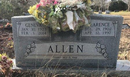 ALLEN, CLARENCE - Miller County, Arkansas | CLARENCE ALLEN - Arkansas Gravestone Photos