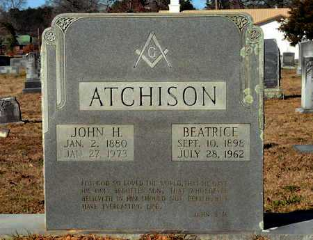 ATCHISON, BEATRICE - Miller County, Arkansas | BEATRICE ATCHISON - Arkansas Gravestone Photos