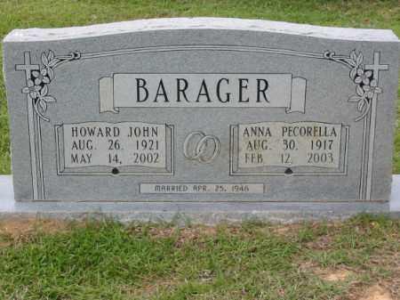 PECORELLA BARAGER, ANNA - Miller County, Arkansas | ANNA PECORELLA BARAGER - Arkansas Gravestone Photos