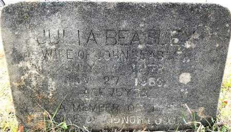 BEASLEY, JULIA A - Miller County, Arkansas | JULIA A BEASLEY - Arkansas Gravestone Photos