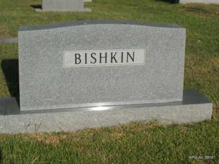 BISHKIN FAMILY STONE,  - Miller County, Arkansas |  BISHKIN FAMILY STONE - Arkansas Gravestone Photos