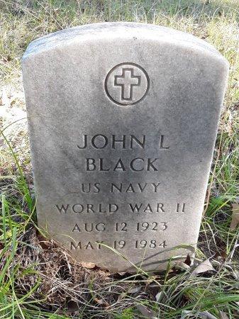 BLACK (VETERAN WWII), JOHN L  - Miller County, Arkansas | JOHN L  BLACK (VETERAN WWII) - Arkansas Gravestone Photos