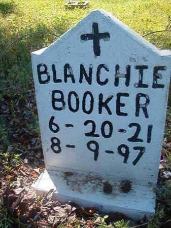 BOOKER, BLANCHIE - Miller County, Arkansas   BLANCHIE BOOKER - Arkansas Gravestone Photos