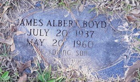 BOYD, JAMES ALBERT - Miller County, Arkansas | JAMES ALBERT BOYD - Arkansas Gravestone Photos
