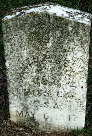 BRYAN  (VETERAN CSA), JAMES P - Miller County, Arkansas | JAMES P BRYAN  (VETERAN CSA) - Arkansas Gravestone Photos