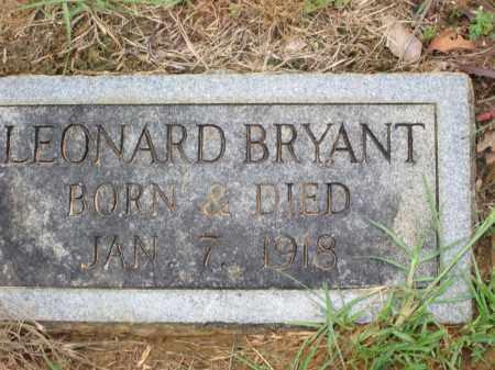 BRYANT, LEONARD - Miller County, Arkansas   LEONARD BRYANT - Arkansas Gravestone Photos