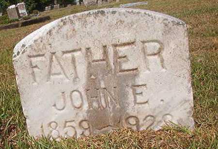 BURNETT, JOHN E - Miller County, Arkansas | JOHN E BURNETT - Arkansas Gravestone Photos