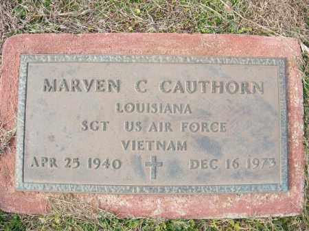 CAUTHORN (VETERAN VIET), MARVEN C - Miller County, Arkansas | MARVEN C CAUTHORN (VETERAN VIET) - Arkansas Gravestone Photos
