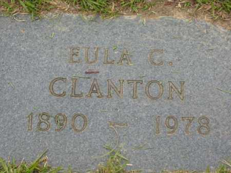 CLANTON, EULA C. - Miller County, Arkansas | EULA C. CLANTON - Arkansas Gravestone Photos