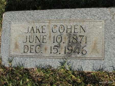 COHEN, JAKE - Miller County, Arkansas | JAKE COHEN - Arkansas Gravestone Photos