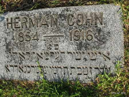COHN, HERMAN - Miller County, Arkansas | HERMAN COHN - Arkansas Gravestone Photos