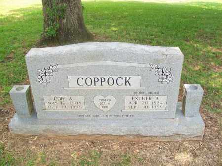 COPPOCK, ODIE A - Miller County, Arkansas | ODIE A COPPOCK - Arkansas Gravestone Photos