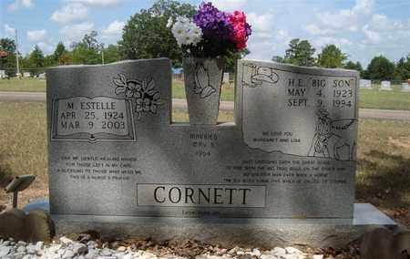 CORNETT, H E  - Miller County, Arkansas | H E  CORNETT - Arkansas Gravestone Photos