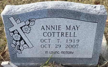 COTTRELL, ANNIE MAY - Miller County, Arkansas | ANNIE MAY COTTRELL - Arkansas Gravestone Photos