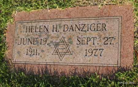 DANZINGER, HELEN H - Miller County, Arkansas   HELEN H DANZINGER - Arkansas Gravestone Photos