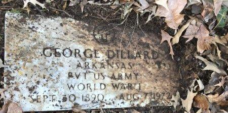 DILLARD (VETERAN WWI), GEORGE - Miller County, Arkansas | GEORGE DILLARD (VETERAN WWI) - Arkansas Gravestone Photos