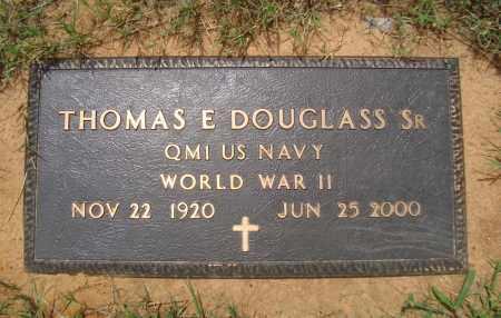 DOUGLASS, SR (VETERAN WWII), THOMAS E - Miller County, Arkansas   THOMAS E DOUGLASS, SR (VETERAN WWII) - Arkansas Gravestone Photos