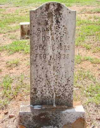 DRAKE, SALLIE E - Miller County, Arkansas | SALLIE E DRAKE - Arkansas Gravestone Photos