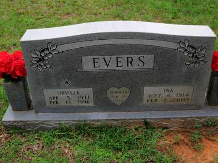 EVERS, ORVILLE - Miller County, Arkansas   ORVILLE EVERS - Arkansas Gravestone Photos
