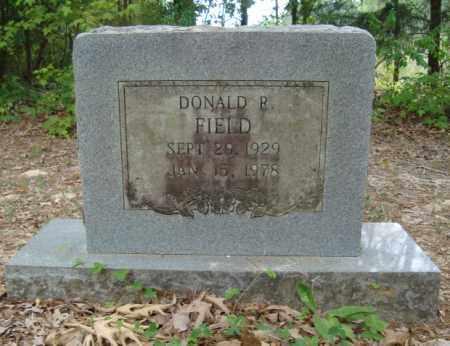 FIELD, DONALD R - Miller County, Arkansas   DONALD R FIELD - Arkansas Gravestone Photos