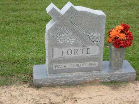 FORTE, ASCANIO LOUIS - Miller County, Arkansas | ASCANIO LOUIS FORTE - Arkansas Gravestone Photos