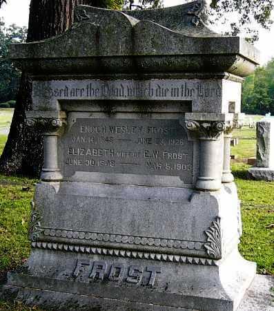 FROST, ENOCH - Miller County, Arkansas   ENOCH FROST - Arkansas Gravestone Photos