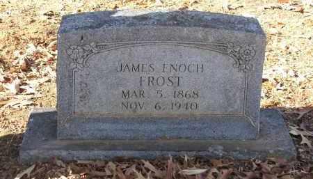 FROST, JAMES ENOCH - Miller County, Arkansas   JAMES ENOCH FROST - Arkansas Gravestone Photos