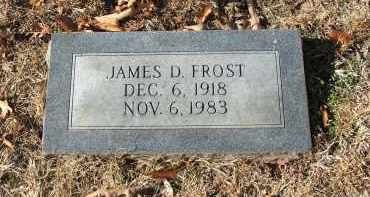 FROST, JAMES D - Miller County, Arkansas | JAMES D FROST - Arkansas Gravestone Photos