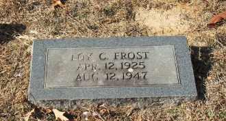FROST, LOY C - Miller County, Arkansas | LOY C FROST - Arkansas Gravestone Photos