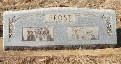 FROST, WESLEY EDWIN - Miller County, Arkansas | WESLEY EDWIN FROST - Arkansas Gravestone Photos