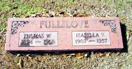 FULLILOVE, THOMAS W. - Miller County, Arkansas | THOMAS W. FULLILOVE - Arkansas Gravestone Photos