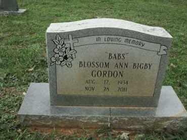 """GORDON, BLOSSOM ANN """"BABS"""" - Miller County, Arkansas   BLOSSOM ANN """"BABS"""" GORDON - Arkansas Gravestone Photos"""